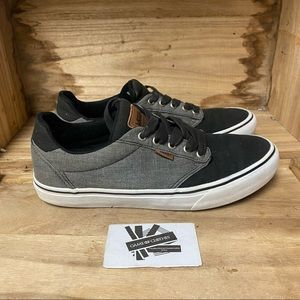 Vans off the wall low top black brown grey fashion sneakers shoes